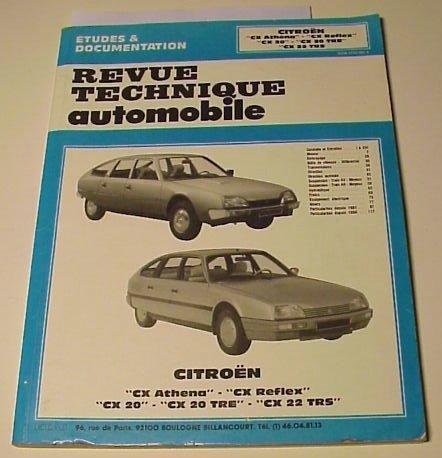 ... automobile. Citroën CX Athena, CX Reflex, CX 20, CX20 TRE, CX 22 TRS